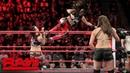 The Bella Twins Natalya vs The Riott Squad Raw Sept 24 2018