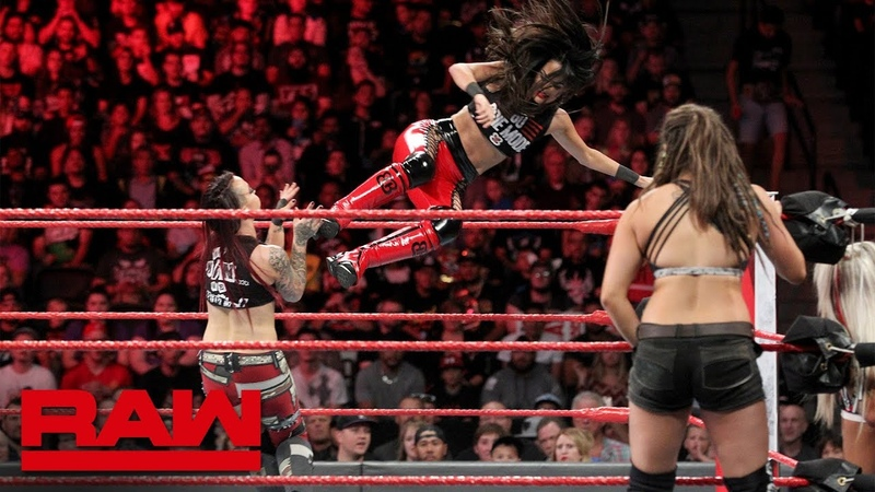 The Bella Twins Natalya vs. The Riott Squad: Raw, Sept. 24, 2018