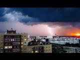 Зарево и молния в Заречном