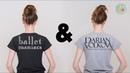 Ballet Maniacs Darian Volkova T-shirts Promotion Video   quatre-quarts ballet