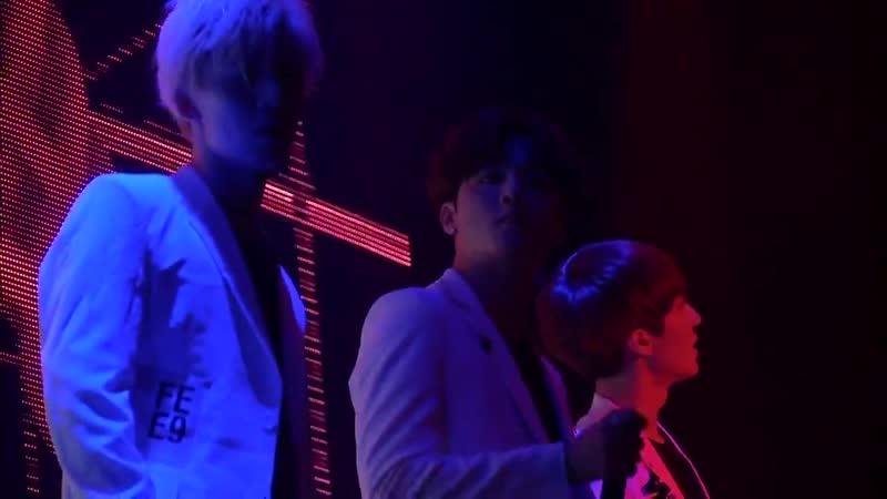 """SF9 (Chani, Zuho и др.) - Rap (1st Concert in Japan """"Fanfare"""" 04.02.2017)"""