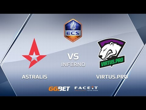 Astralis vs VirtusPro ecs season 6 europe
