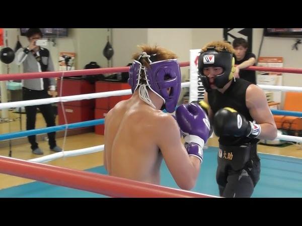 ボクシング・井上尚弥スパー【NAOYA Inoue spar①】2017.11.Boxing