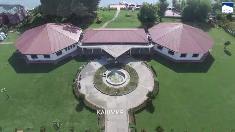 Красивый Kлуб Нигин и озеро Нигин в сердце города Сринагар Кашмир - Nigeen Club