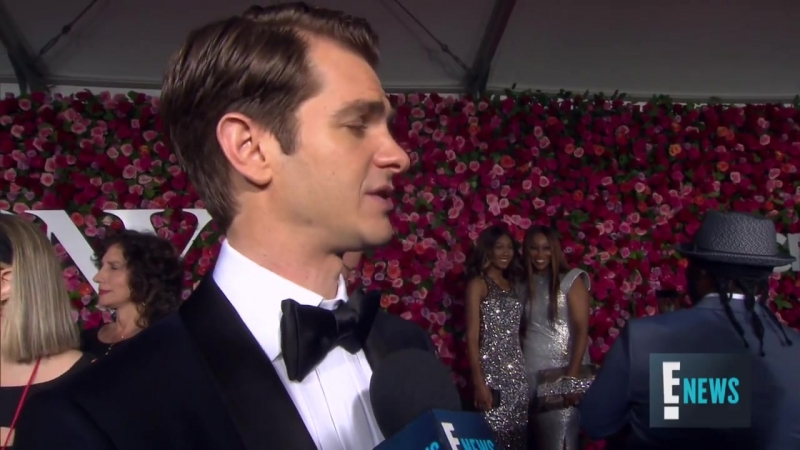 Andrew Garfield Tells Why 2018 Tony Awards Is Unique - E! Live from the Red Carpet