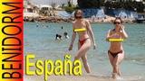 Benidorm Spain Levante Beach