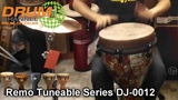 Remo Key-Tuned DJ-0012 Djembe Preview