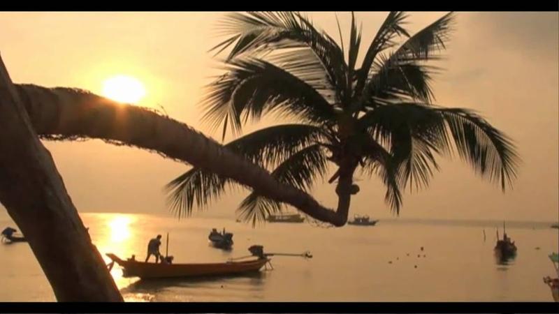 Koh TAO Sairee beach sunset at the Thailand