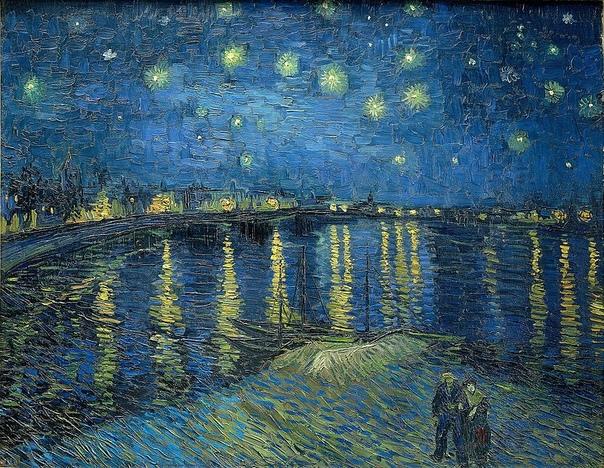 История одного шедевра. «Звездная ночь над Роной», Винсент Ван Гог