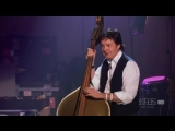 The original Elvis Presleys bass played by Paul McCartney.