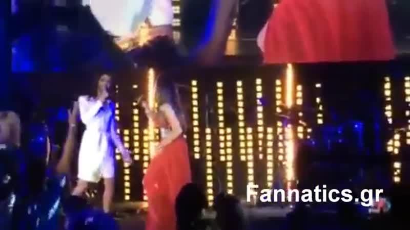 Anna Vissi feat. Conchita Wurst - Everything, Jackie O Beach, Mykonos (26072014