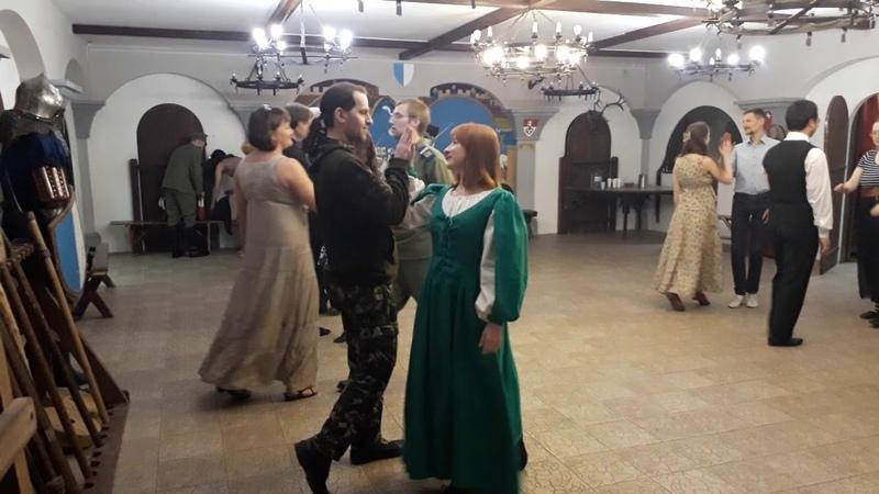 Павана Вечар старадаўніх танцаў у МПДіМ