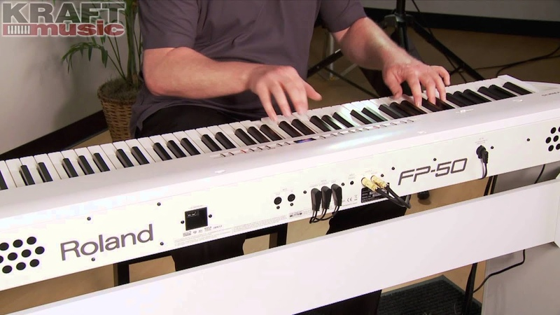 Kraft Music - Roland FP-50 Demo with James Day