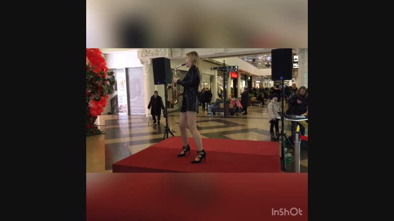Анастасия Елгина Европа live saxophone