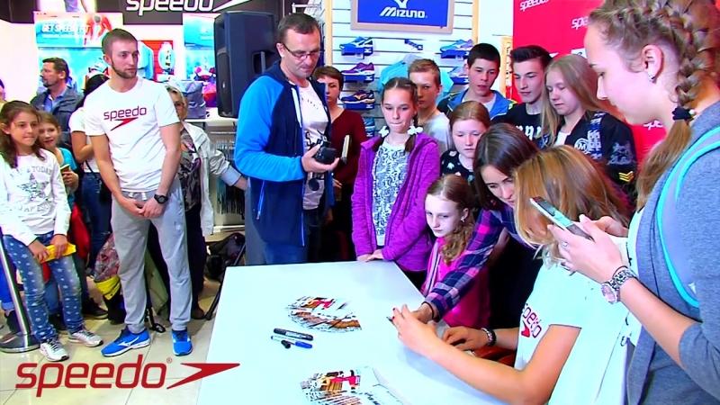 Speedo. Автограф-сессия и мастер-класс пятикратной чемпионки мира Юлии Ефимовой.
