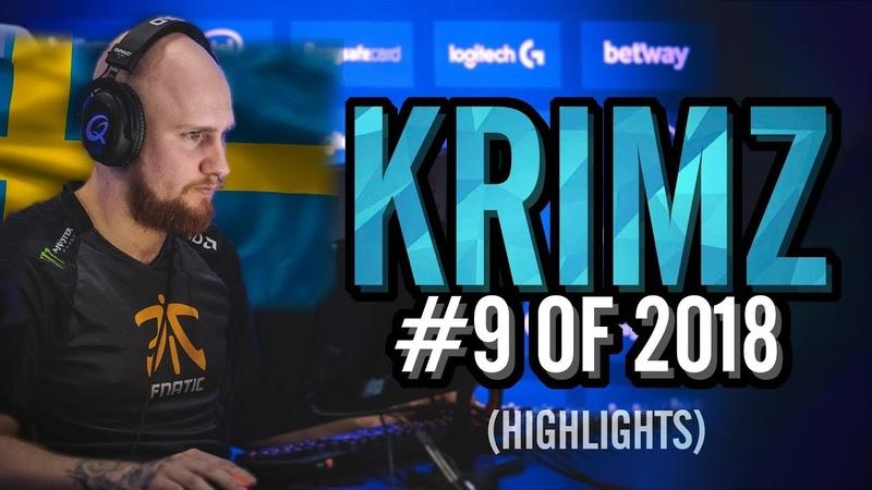 KRIMZ - The Swedish AIM GOD? - HLTV.org's 9 Of 2018 (CS:GO)