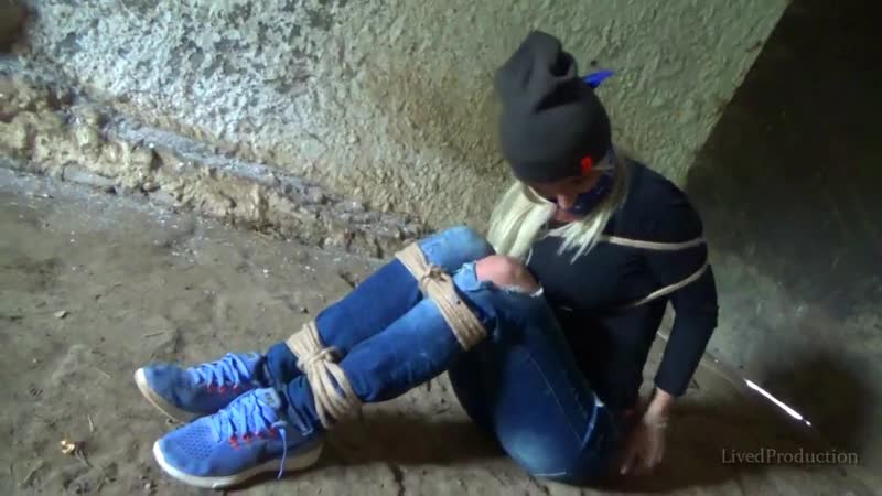 LivedProduction Jessie farmer girl grabbed tied and bandana gagged