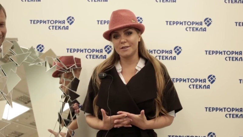 Оксана Почепа Акула в гостях у Территории Стекла Чебоксары.