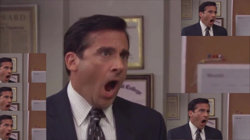 Phoenix Wright Ace Attorney Cornered but it's NOOOOOOOOOO 'ed by Michael Scott