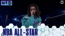 J. Cole Puts On a Show For the Home State   All-Star 2019 Halftime Show