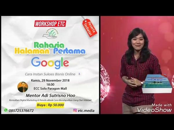 Belajar Rahasia Halaman Pertama Google Di Solo WA 0818963915, Lima Kata Kunci Di Halaman Depan Googl