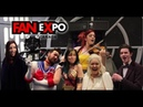 Violin girl surprises cosplayers with their themes!! FAN EXPO 2017