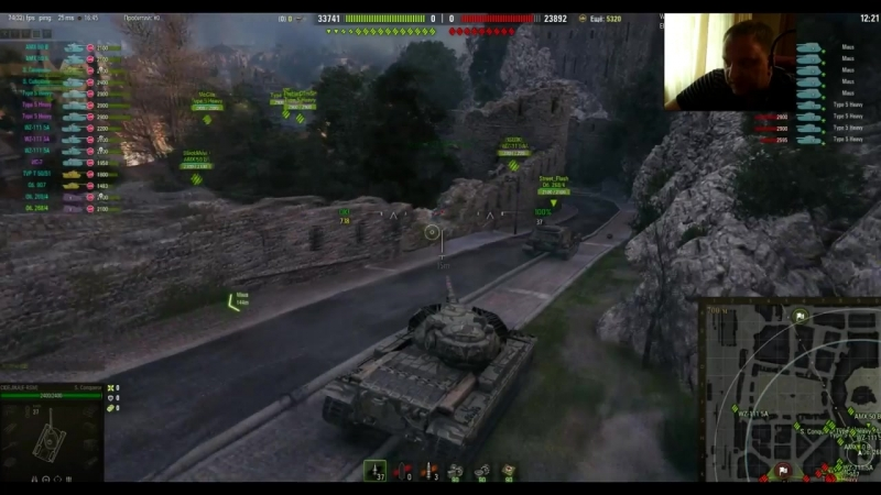 [18 МАТЫ!] [World of Tanks] ОДИН БОЙ с ГК