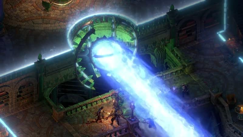 Трейлер Pillars of Eternity II Deadfire - Дополнение The Forgotten Sanctum