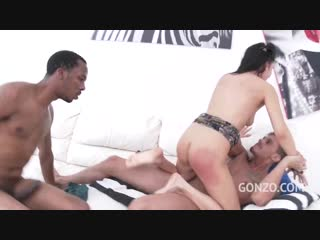 Nelly kent hardcore dp with two monster cocks [anal, gape, toys, dp, interracial, 720p]