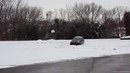 VW Passat Wagon 4 motion snow drift