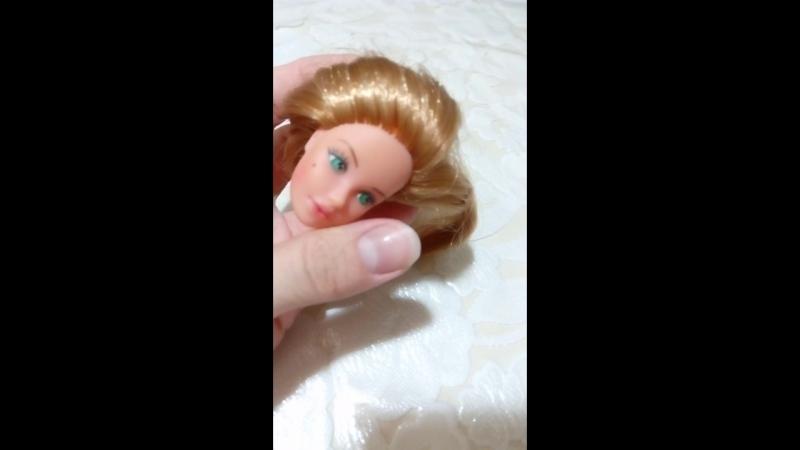 Допрошивка головки Barbie