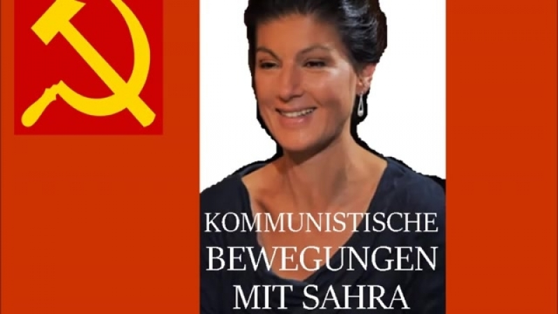 Kommunistische Bewegungen mit Sahra