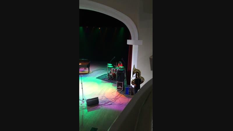 Джазовая провинция Соло барабанщика Stooges Brass Band Тула 31.10.2018