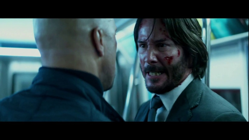 John Wick vs Cassian - Second Fight Scene - John Wick Chapter 2 Full HD 12K Bitrate