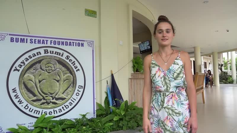 Интервью с Робин Лим - Естественные роды на Бали