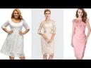 VESTIDOS ELEGANTES DE MODA SEÑORAS Vestidos de encaje 2019