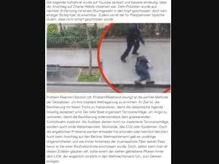 Charlie Hebdo war eine Falsche Flagge