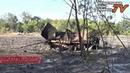 Разгром украинской армии под Еленовкой - откуда велись обстрелы Донецка. Брошенные трофеи .