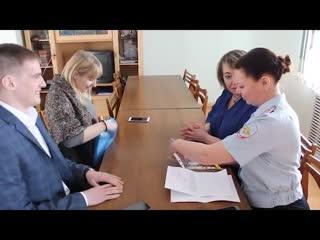 Члены Общественного совета при МО МВД России «Ишимский» провели выездное заседание в селе Сладково.