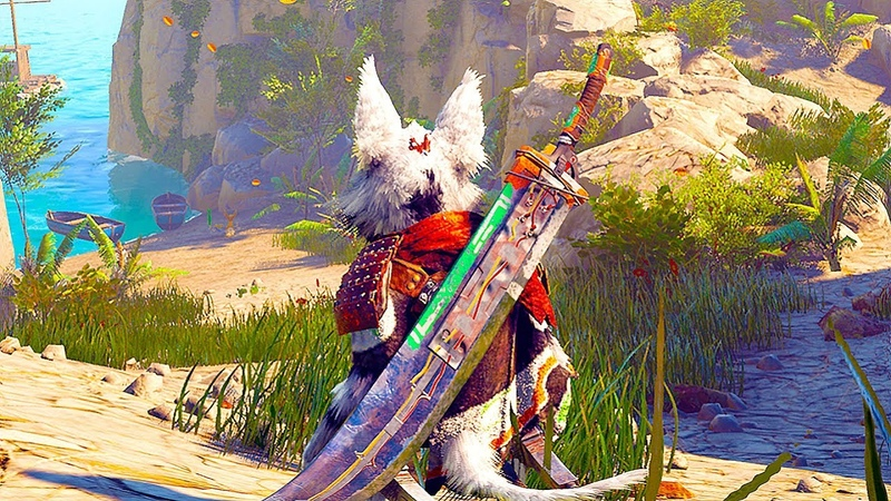BIOMUTANT - NEW Gameplay 13 Minutes Demo No Commentary (Gamescom 2018)