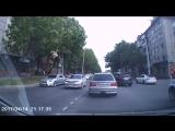 Авария в Хабаровске.