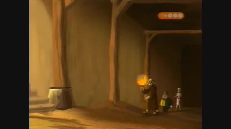 Мультфильм про льва Аргай 12 серия (Побег монаха Тича)