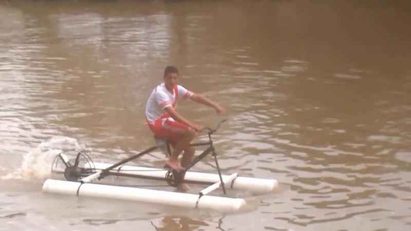 Bici Acuatica Eze y Mauro