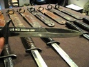 All 9 First Run M3 Trench Knives (Blade Dated Equivalent) With M6 Scabbards