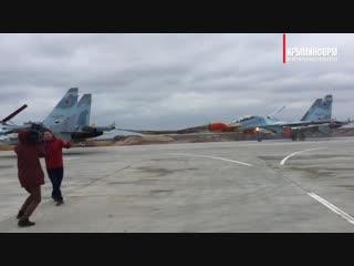 Аэродром Бельбек в Крыму принял первые истребители после реконструкции