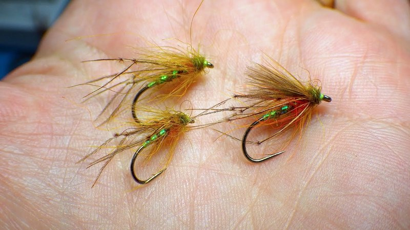 Tying a F-Fly Olive Hopper with Davie McPhail