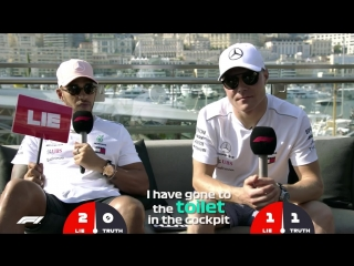 Mercedes Lewis Hamilton And Valtteri Bottas _ Grill The Grid Truth Or Lie