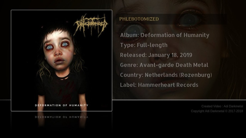 Phlebotomized - Deformation of Humanity (2019)