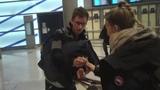 Eddie Redmayne signing autographs in Paris