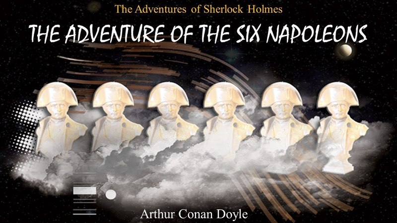 Learn English Through Story - The Adventure of the six Napoleons by Arthur Conan Doyle